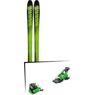 Set: K2 SKI Pinnacle 95 2018 + Tyrolia Attack² 13 GW green