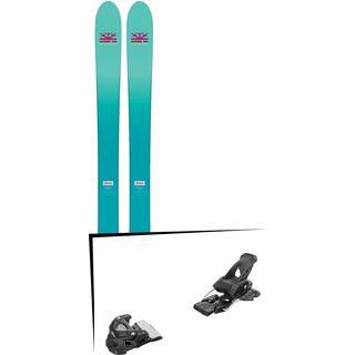 Set: DPS Skis Nina F99 Foundation 2018 + Tyrolia Attack 13 solid black