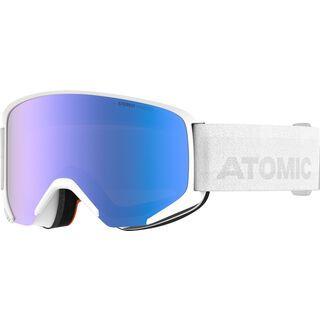 Atomic Savor Photo, white/Lens: blue - Skibrille