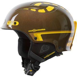 Sweet Protection Igniter, golden brown metallic - Skihelm