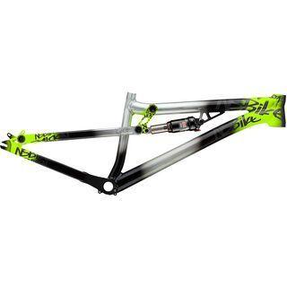 NS Bikes Soda Slope Frame 2014, Raw / Lime - Fahrradrahmen