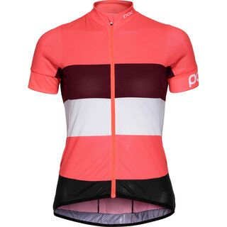 POC Essential Road WO Light Jersey, flerovium pink/hydrogen white - Radtrikot
