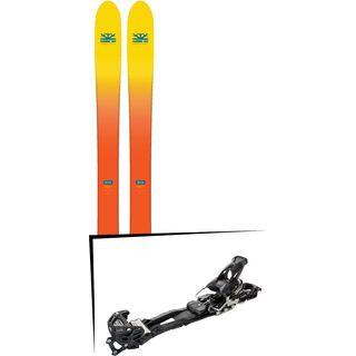 Set: DPS Skis Wailer F112 2017 + Tyrolia Adrenalin 16 AT (2020402)