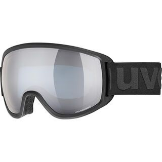 uvex topic FM sphere, black mat/Lens: mirror silver - Skibrille