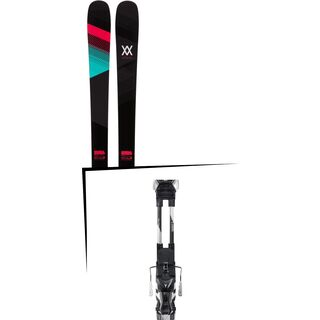 Set: Völkl Kenja 2017 + Atomic Tracker 13 MNC 100 mm, black/silver - Skiset