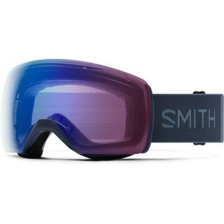 Smith Skyline XL, french navy/Lens: cp photochromic rose flash - Skibrille