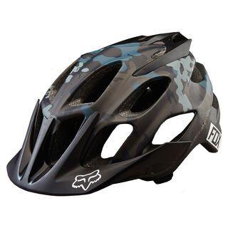 Fox Flux Camo Helmet, black camo - Fahrradhelm