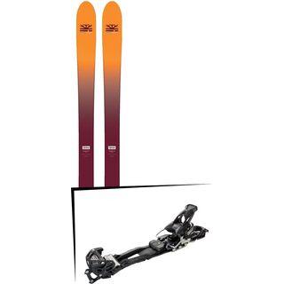 Set: DPS Skis Wailer F99 Foundation 2018 + Tyrolia Adrenalin 16 AT