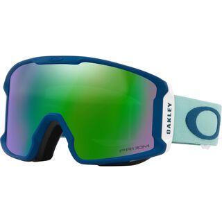 Oakley Line Miner XM Prizm, arctic surf poseidon/Lens: prizm jade iridium - Skibrille