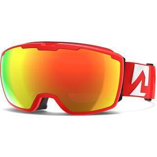 Marker Perspective+ inkl. Wechselscheibe, infrared/Lens: red plasma mirror - Skibrille