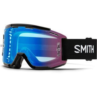Smith Squad MTB inkl. WS, black/Lens: cp contrast rose flash - MX Brille