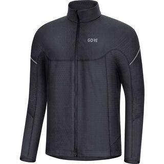 Gore Wear M Thermo Zip Shirt langarm, black - Radtrikot