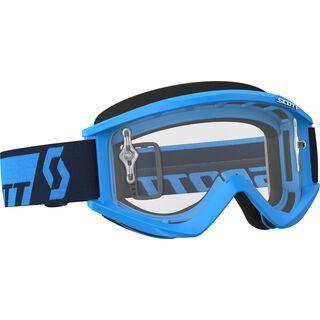 Scott Goggle Recoil Xi, blue/Lens: clear - MX Brille
