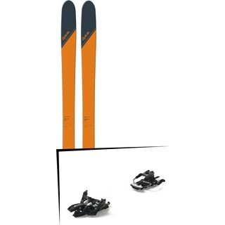 Set: DPS Skis Wailer 99 Tour1 2018 + Marker Alpinist 9 Long Travel black/titanium