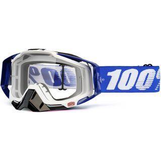 100% Racecraft, cobalt blue/Lens: clear - MX Brille
