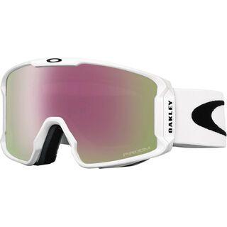 Oakley Line Miner - Prizm Hi Pink Iridium matte white