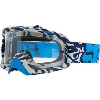 Fox Air Space Cauz, blue/clear - MX Brille