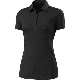 Specialized Women's Utility Merino Polo SS, black - Funktionsshirt