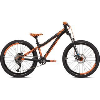 NS Bikes Clash JR 24 2019, black/orange - Kinderfahrrad