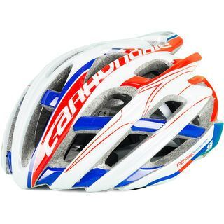Cannondale Cypher, white red blue - Fahrradhelm