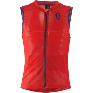 Scott Actifit Men's Light Vest, burnt red/eclipse blue - Protektorenweste