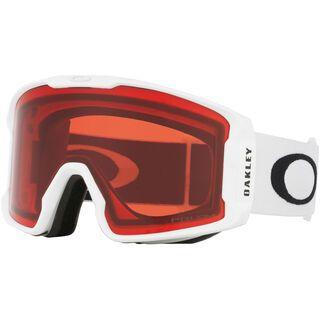 Oakley Line Miner XM Prizm, matte white/Lens: rose iridium - Skibrille