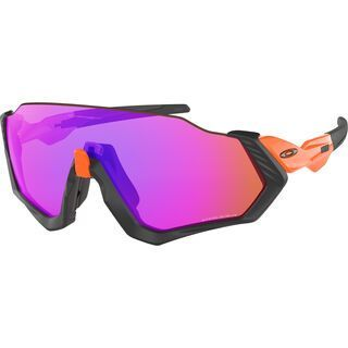 Oakley Flight Jacket Prizm, neon orange/Lens: prizm trail - Sportbrille