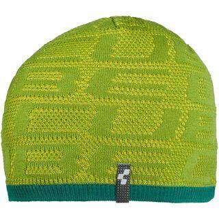 Cube Beanie Logo green