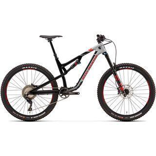 Rocky Mountain Altitude Carbon 70 2018, black/grey/red - Mountainbike