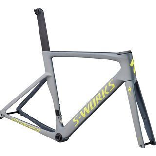 Specialized S-Works Venge Disc Frameset 2019, cool grey/team yellow