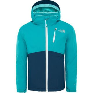 The North Face Youth Snowquest Plus Jacket, kokomo green - Skijacke