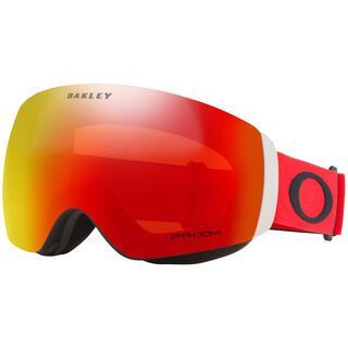 Oakley Flight Deck XM Prizm, red black/Lens: torch iridium - Skibrille