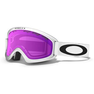Oakley O2 XS, Matte White/Violet Iridium - Skibrille