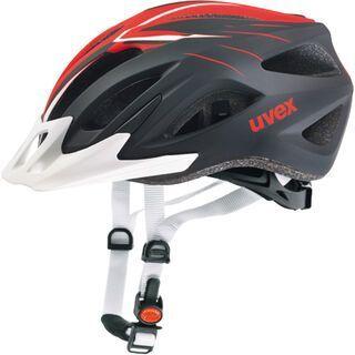 uvex viva 2, scream white-red mat - Fahrradhelm