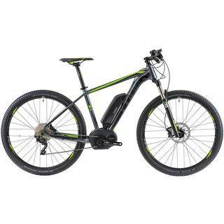 Cube Reaction Hybrid Race 29 2014, grey/green - E-Bike
