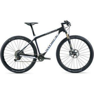 Storck Rebel Nine G3 XT 2x11 2016, black/blue/white - Mountainbike