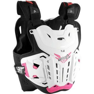 Leatt Chest Protector 4.5 Jacki white/pink