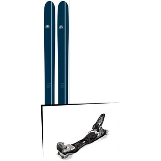 DPS Skis Set: Lotus 124 Powderworks Special Edition 2016 + Marker Baron EPF 13