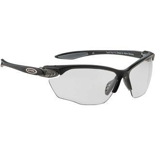 Alpina Twist Four VL+, black matt/Lens: varioflex+ black - Sportbrille