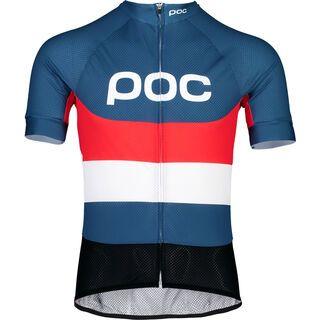 POC Essential Road Logo Jersey, prismane multi red - Radtrikot