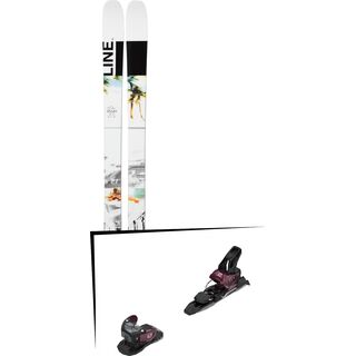Set: Line Tom Wallisch Pro 2019 + Salomon Warden MNC 11 fig