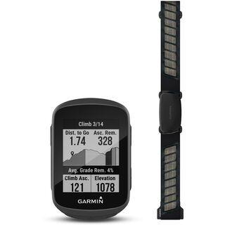 Garmin Edge130 Plus Herzfrequenz-Bundle schwarz