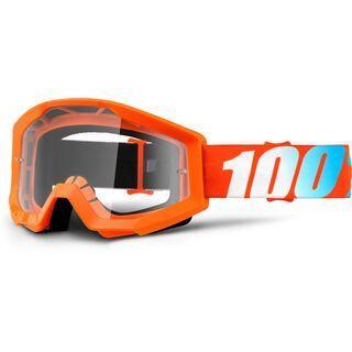 100% Strata, orange/Lens: clear - MX Brille