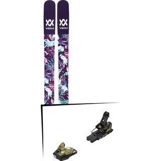 Set: Völkl Bash 116 W 2018 + Salomon STH2 WTR 16 gold/black