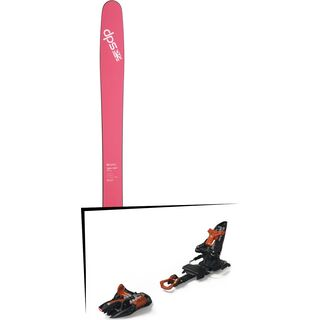 Set: DPS Skis Yvette 112 RP2 2017 + Marker Kingpin 10 (2319334)