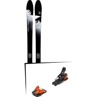 Set: Icelantic Sabre 89 2018 + Salomon STH2 WTR 13 orange/black