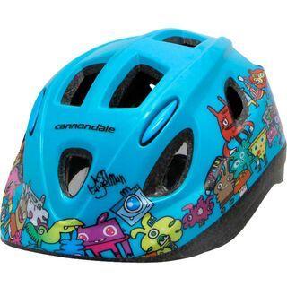 Cannondale Burgerman Colab Kids Helmet, teal - Fahrradhelm