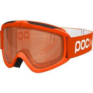 POC POCito Iris, fluorescent orange/Lens: orange - Skibrille