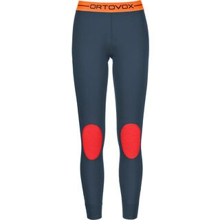 Ortovox Merino 185 Rock 'N' Wool Long Pants, night blue - Unterhose