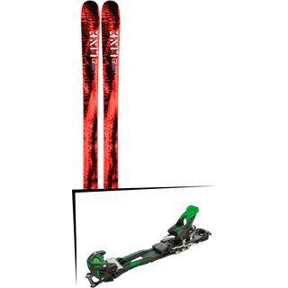 Set: Line Honey Badger 2019 + Tyrolia Adrenalin 16 solid black flash green